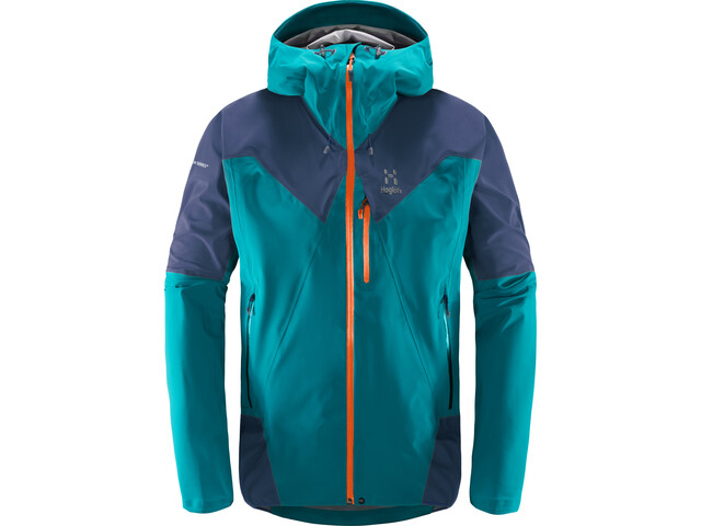Haglöfs L.I.M Touring PROOF Jacket Herr alpine green/tarn blue